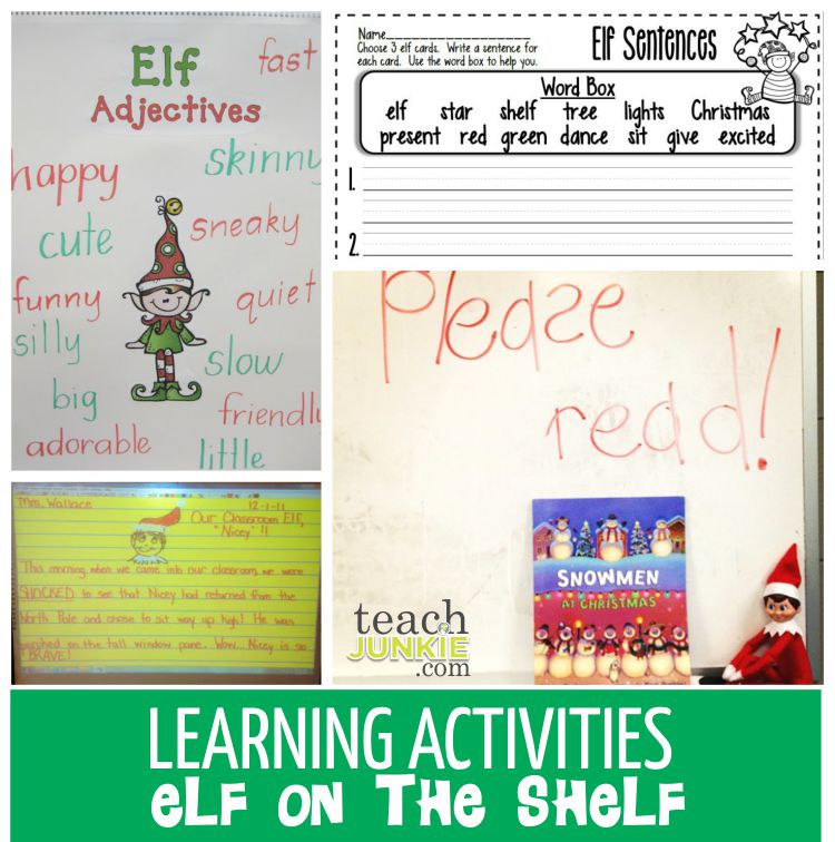 Learning Activities - TeachJunkie.com