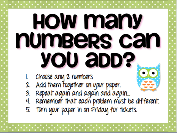 Make an Add It Up Math Boggle Board - add 2 double digit numbers