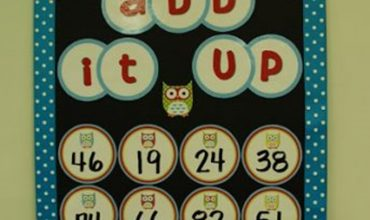 """Make an """"Add It Up"""" Math Boggle Board for Your Classroom"""