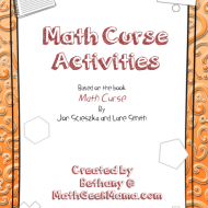 "Problem Solving Printables for ""Math Curse"""