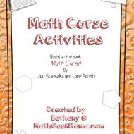 "Problem Solving Printables for ""Math Curse"""