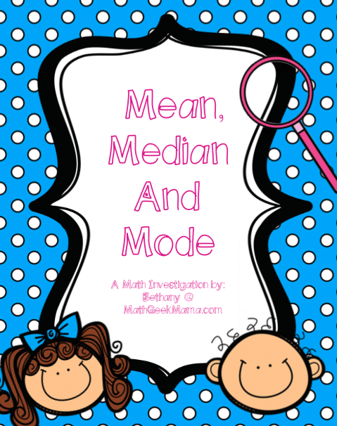 Mean Median Mode – Introductory Lesson With Pennies - Teach Junkie