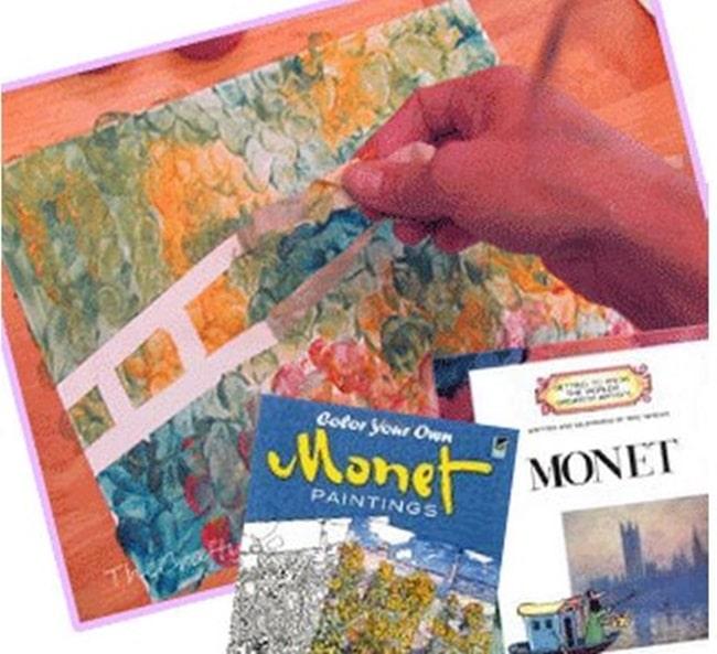 Monet Art Project - Teach Junkie