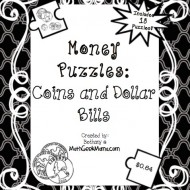 Free Money Puzzles: Counting Coins and Bills
