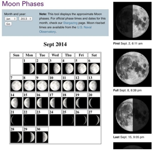 21 Super Activities for Teaching Moon Phases - Moon Phases Calendar - Teach Junkie