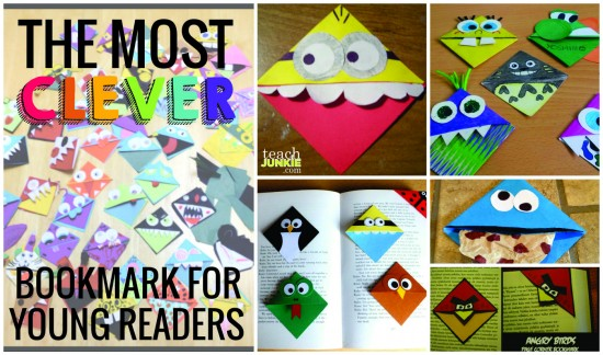 Most Clever Bookmark for Young Readers - Teach Junkie