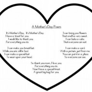 Quick Mother's Day Poem {Printable}