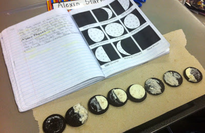 21 Super Activities for Teaching Moon Phases - Oreo Moon Phases - Teach Junkie