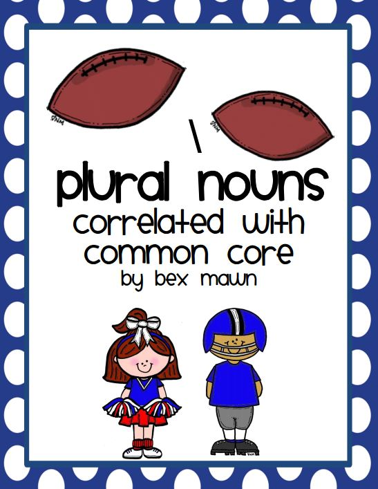 Common Plural Nouns Free Worksheet - Teach Junkie