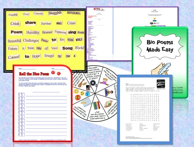 6 Free Poetry Center Activities {Sixth Grade} - Teach Junkie