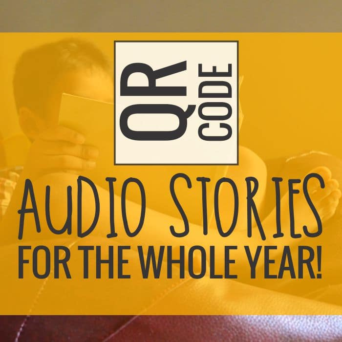 QR Code Audio Stories for the Whole Year