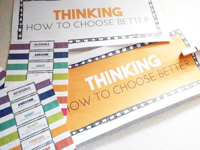 Rainbow Clip Chart Freebie - two color options