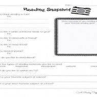 Reading Interest Survey: Adapted from The Book Whisperer for Younger Students