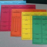 Time Saving Reading Comprehension Bookmarks