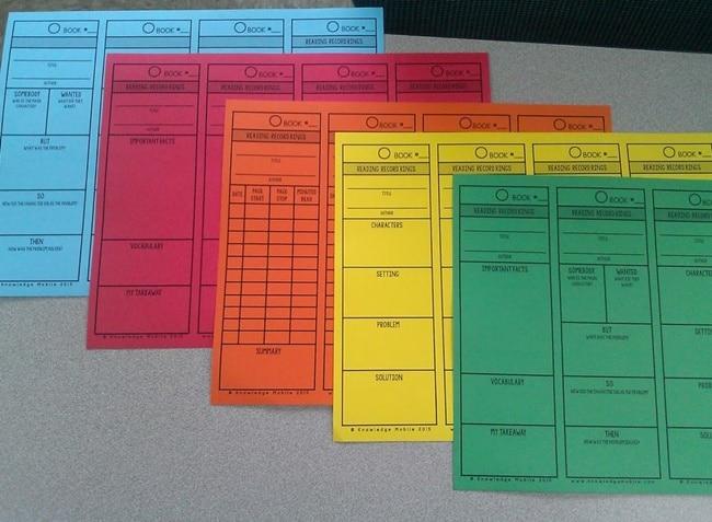 Time Saving Reading Comprehension Bookmarks - Teach Junkie