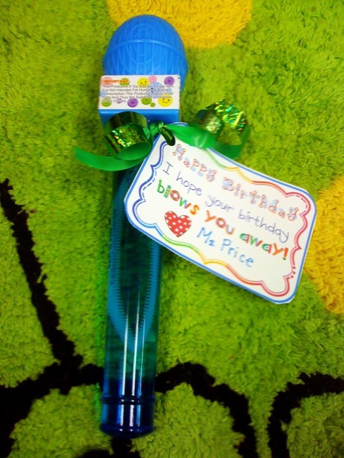 Ready Confetti and Birthday Bubbles - Bubbles Tag