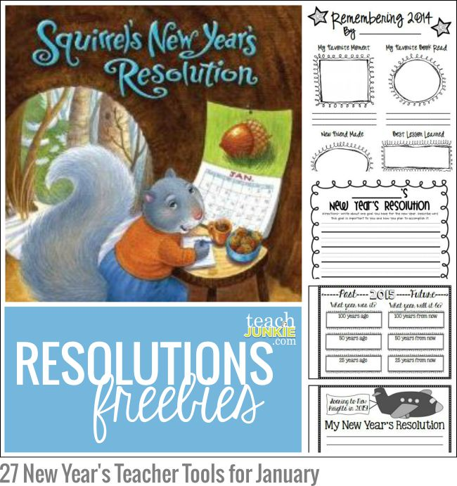 resolutions freebies 27 new years teacher tools for january teach junkie