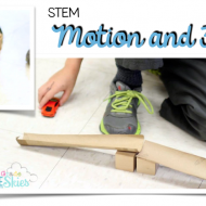 Force and Motion Experiment - STEM Printable