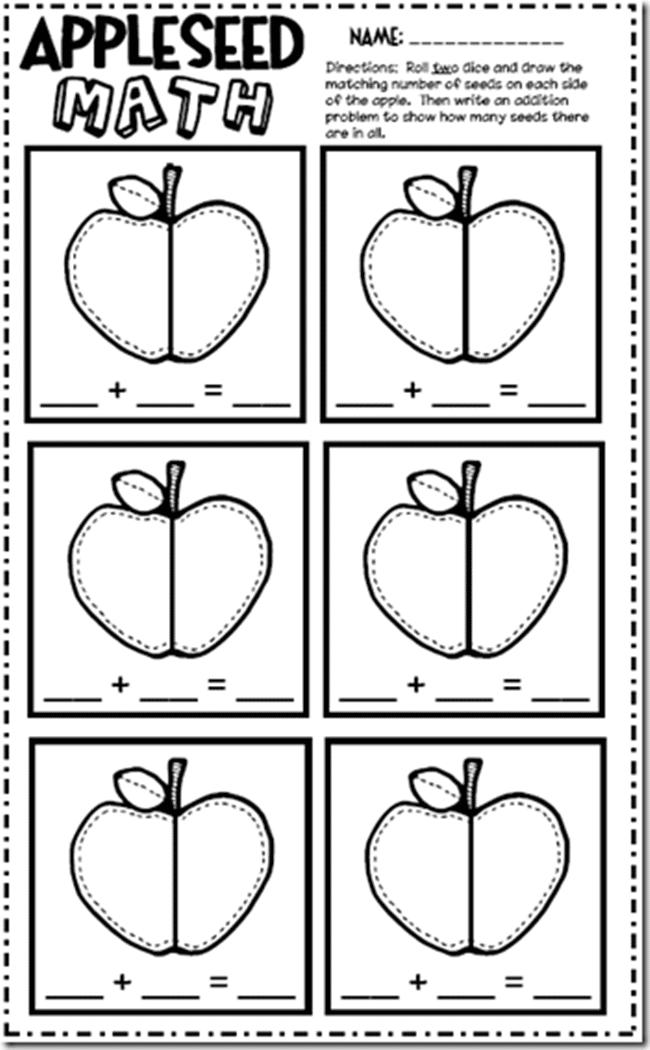 22 apple licious classroom activities and freebies teach junkie. Black Bedroom Furniture Sets. Home Design Ideas