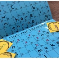 Sight Words Battleship Treasure Hunt Game