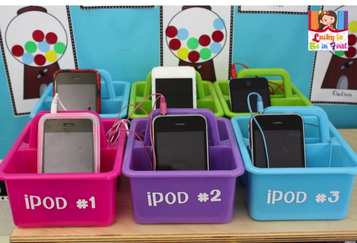 Teach Junkie: Using iPods as Listening Centers