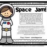 Multiplication Fluency Space Jam Game {Printable}