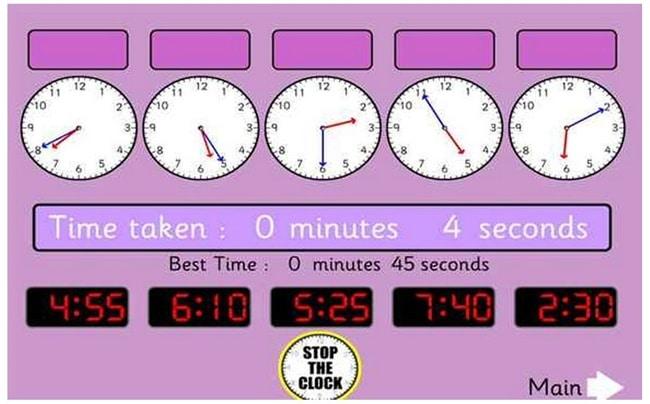 11 Free Telling Time Games Online - Teach Junkie
