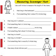 Take Your Students on a Length Measuring Scavenger Hunt