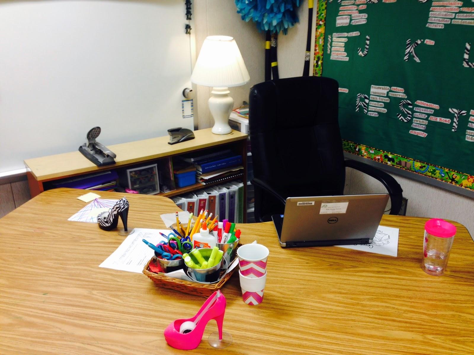 Teacher Desk No More