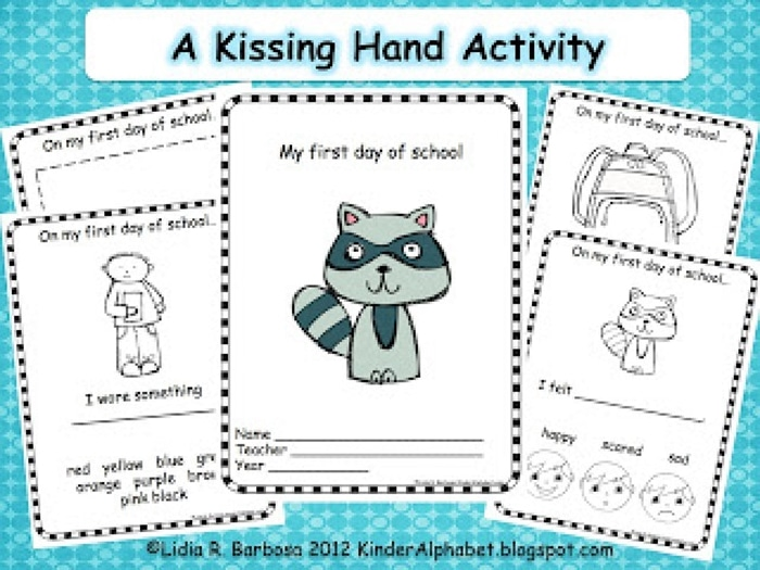 The Kissing Hand - Free Activity Booklet