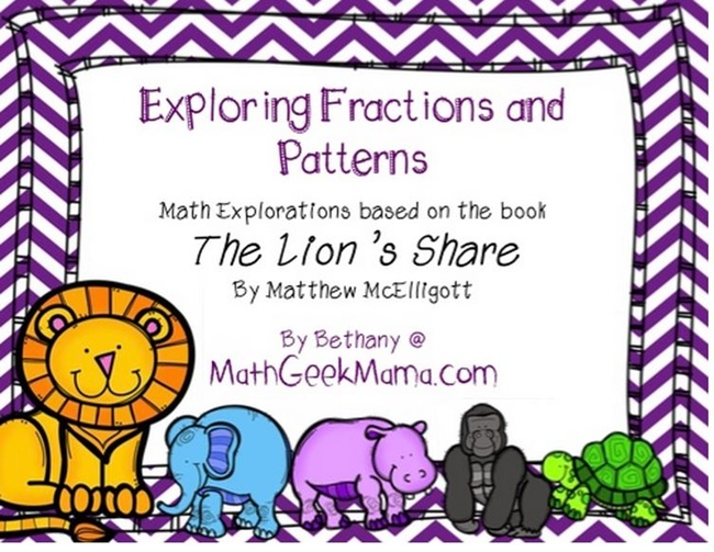 The Lions Share Lessons and Printables - Teach Junkie