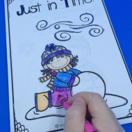 Early Math Reader to Practice Telling Time