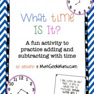 Fun Elapsed Time Clock Hunt Activity