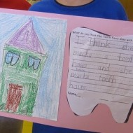 Tooth Fairy Writing Prompt {Dental Health Month}