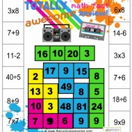 Totally Awesome Fun Math Games – Mixed Math Facts