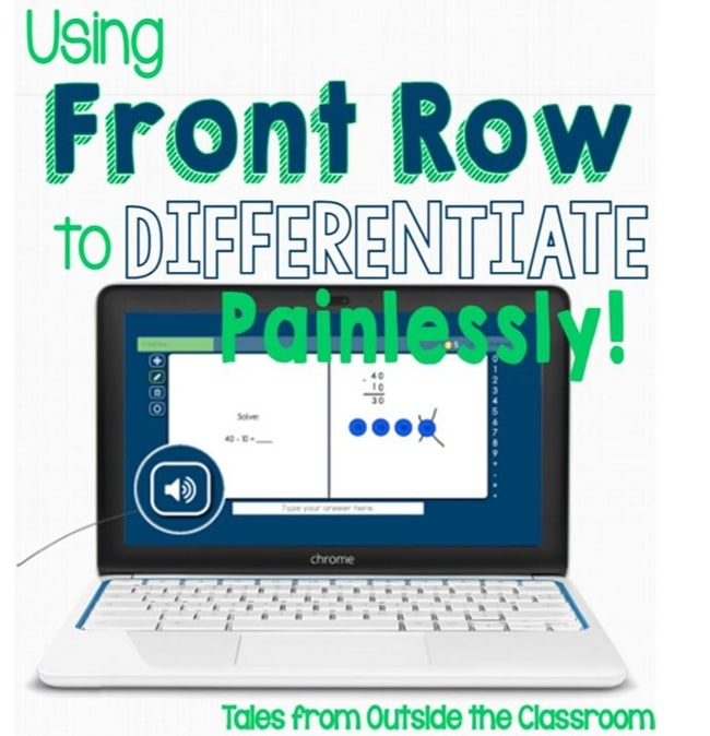 Using Front Row to Differentiate - Teach Junkie