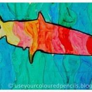 Sea Creatures Paint Project