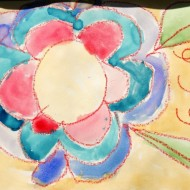 Watercolor Flower Art Project