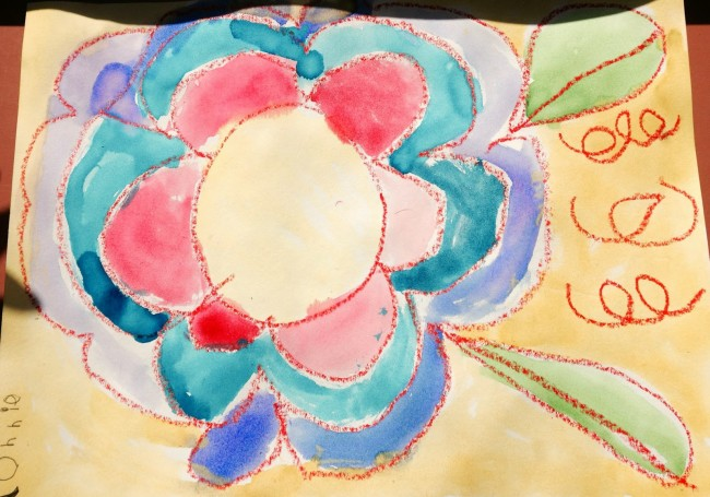 Watercolor Flower Art Project - Teach Junkie