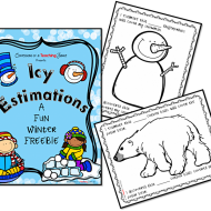 Winter Estimation Activity Printables