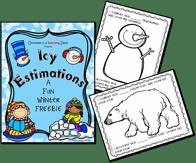 Winter Estimation Activity Printables - Teach Junkie