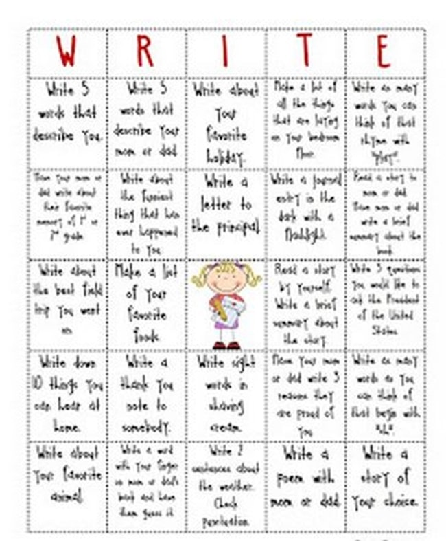 10 Helpful Writing Prompts and Anchor Charts - Write-o - Teach Junkie