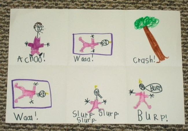 10 Helpful Writing Prompts and Anchor Charts - Writing Onomatopoeia Stories - Teach Junkie