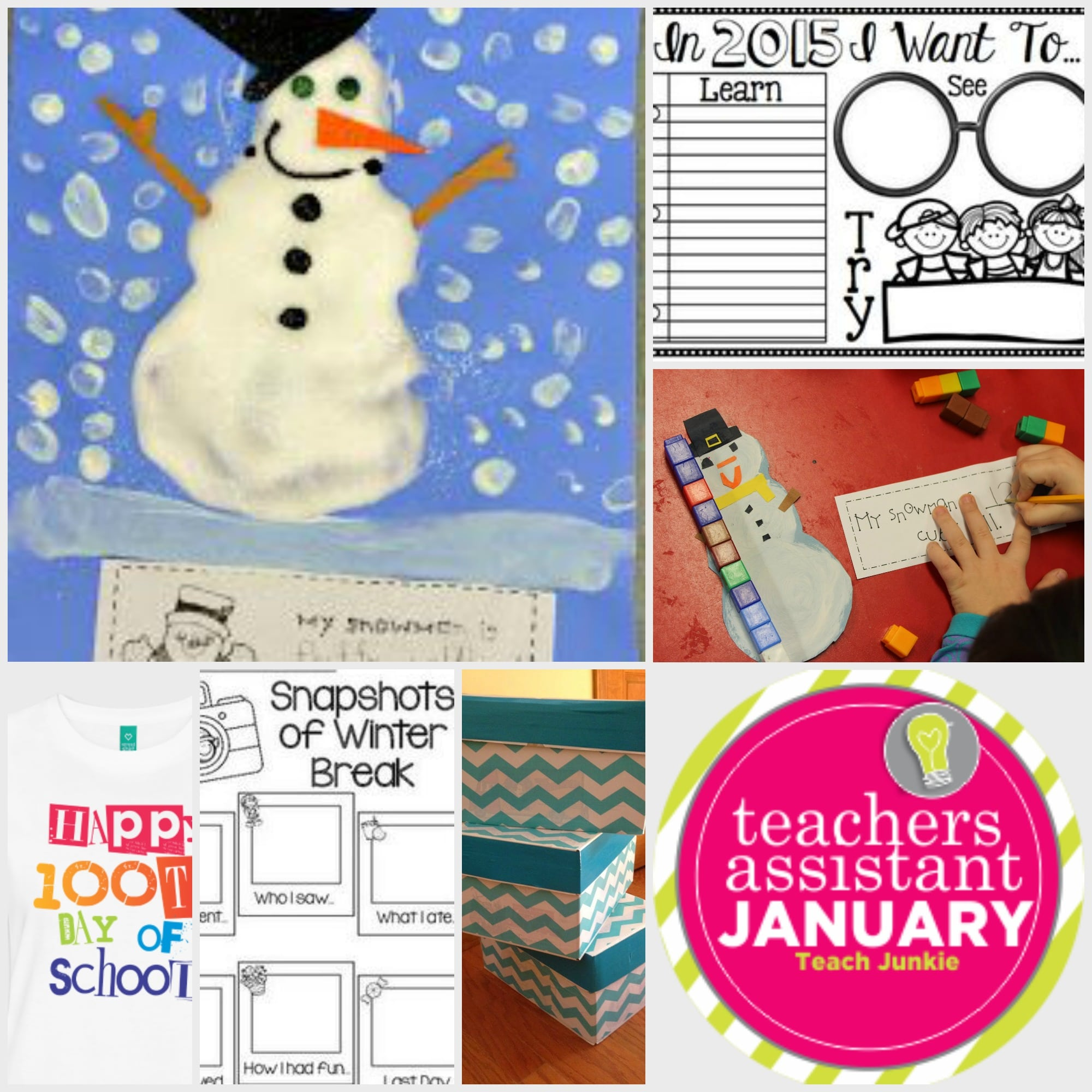 Your Personal Teacher's Assistant for January - Teach Junkie