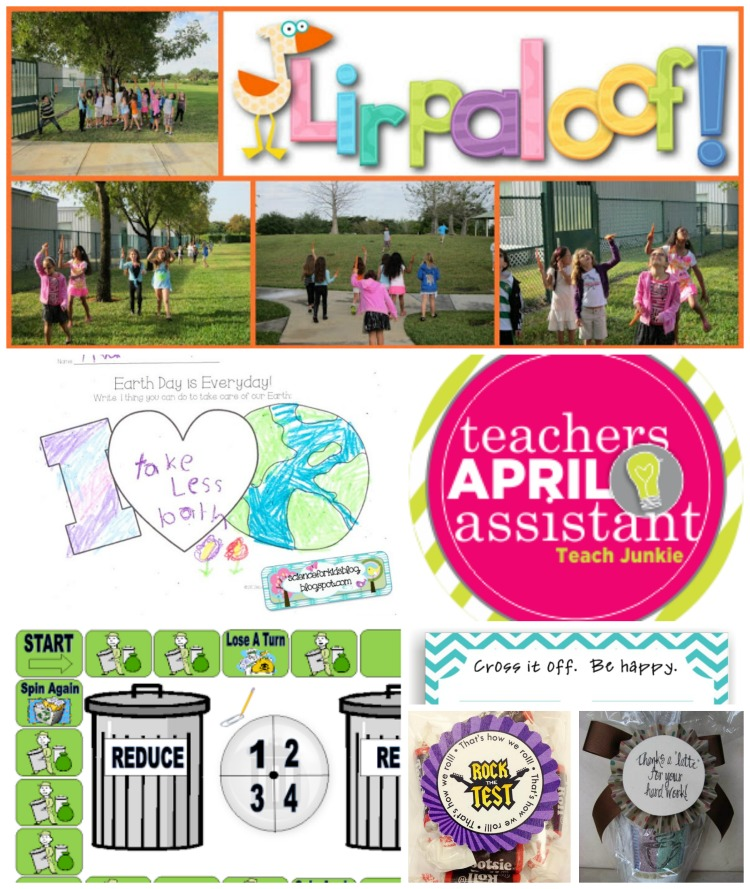Your Personal Teacher's Assistant for April