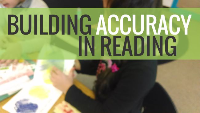 5 Steps to Building Accuracy in Young Readers - Teach Junkie