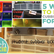 5 Ways to Make Cubbies Work for You
