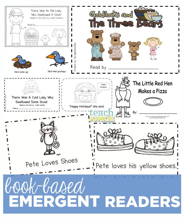 emergent reader book report