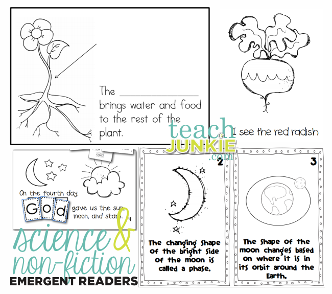 Non-Fiction Emergent Readers - Teach Junkie.com