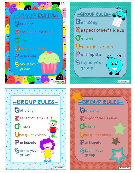 Creating Rules for Group Work - Featured on Teach Junkie